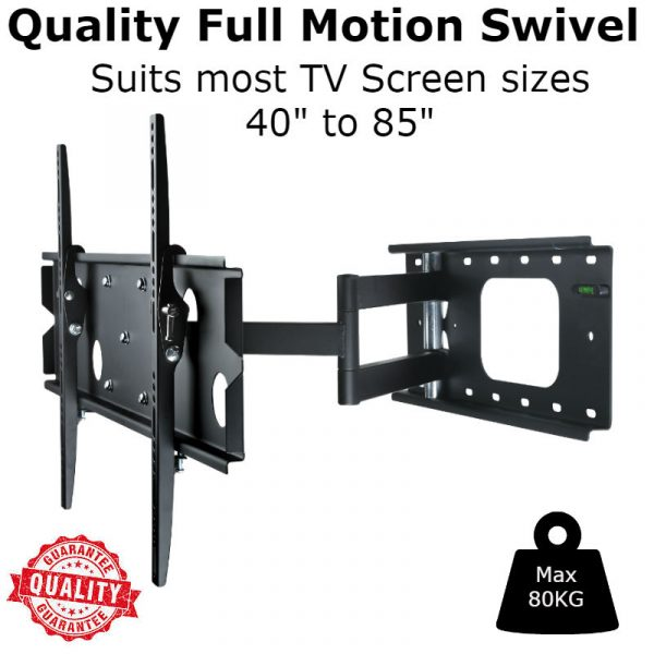 Large Swivel Pull out TV Bracket