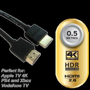 HDMI Slim 4K 0.5m