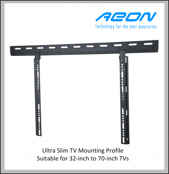 Ultra Slim TV mounting bracket