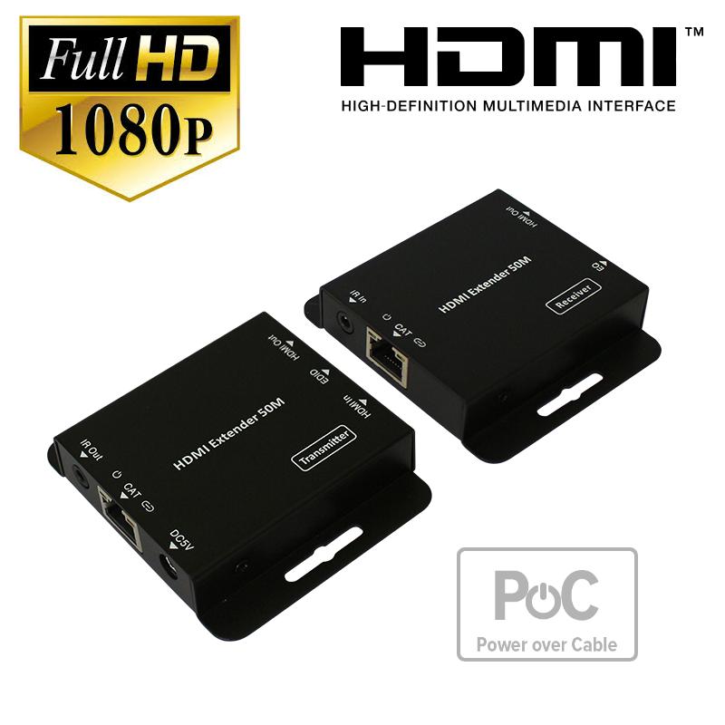 Full HD HDMI over CAT6 Extender